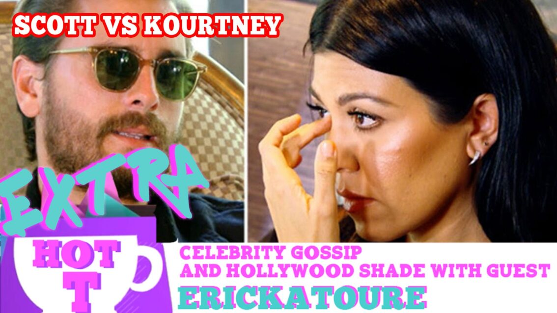Scott VS Kourtney Battle Of The Revenge Romances: Extra Hot T with ERICKATOURE