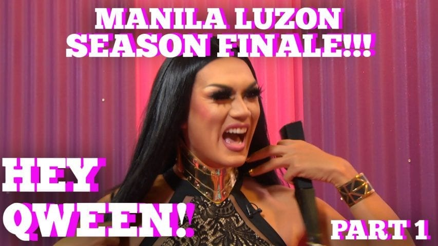 Rupaul's Drag Race All Star MANILA LUZON On Hey Qween SEASON 5 FINALE With Jonny McGovern Part 1 Photo