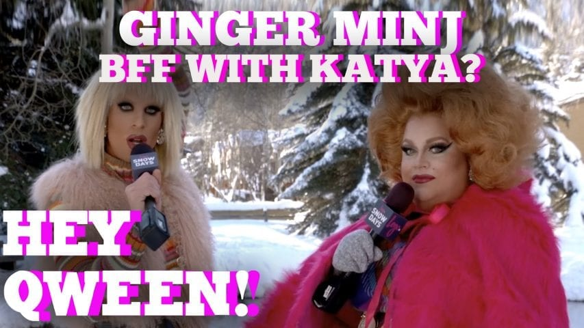 Ginger Minj Finally Reveals If Katya Is Her Best Friend: Hey Qween! Highlight Photo