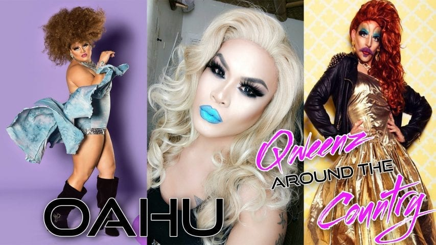 OAHU DRAG on QWEENS AROUND THE COUNTRY with ROZ DREZFALEZ Photo