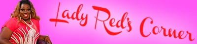 Lady Red's Corner Logo