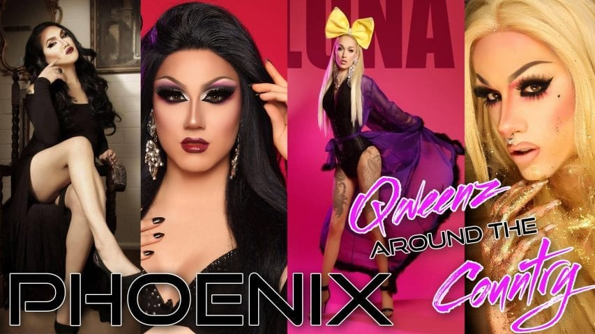 PHOENIX DRAG on QWEENS AROUND THE COUNTRY with Roz Drezfalez Photo