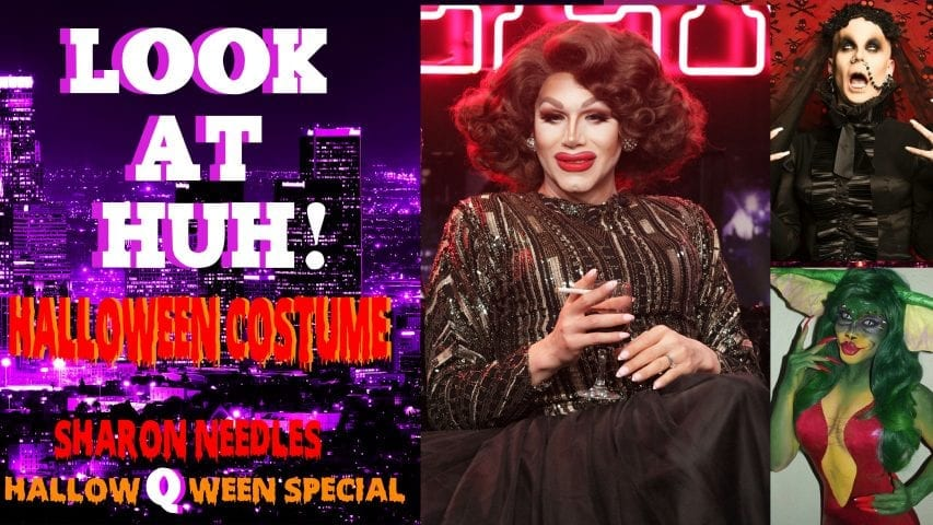 Sharon Needles: Look At Huh… Halloween Costume Photo