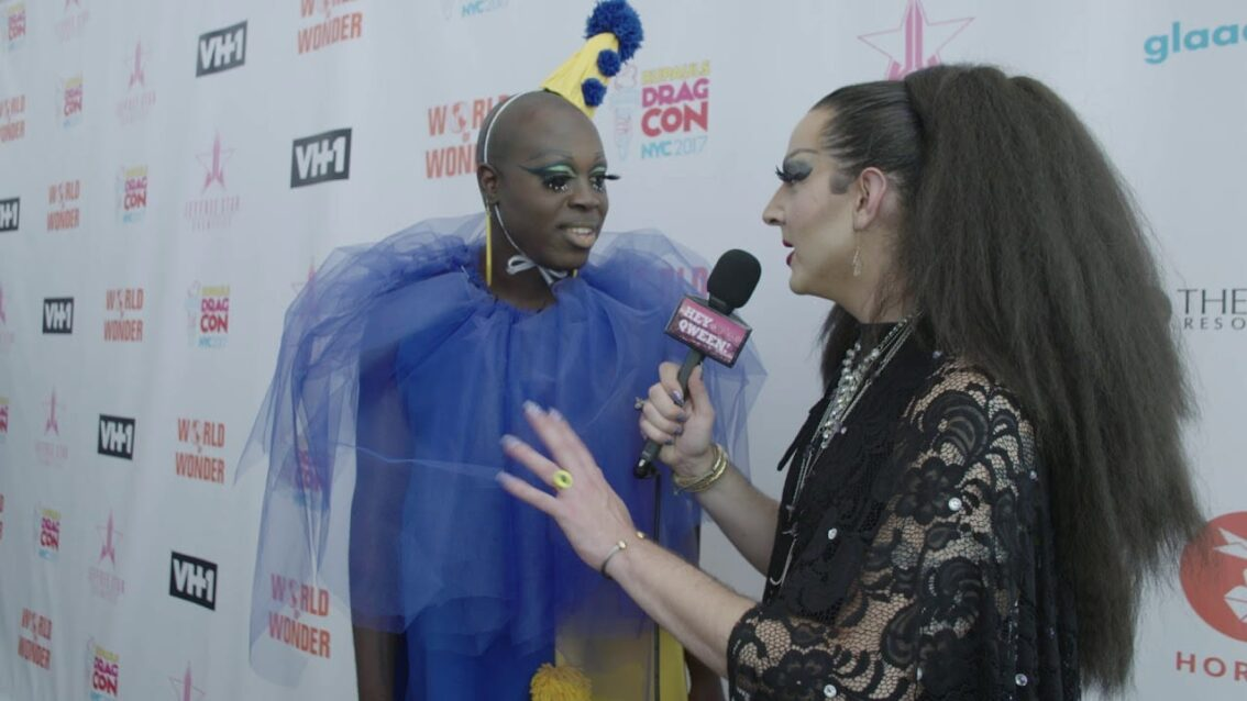 Bob The Drag Queen at DragCon NYC 2017 – Hey Qween!