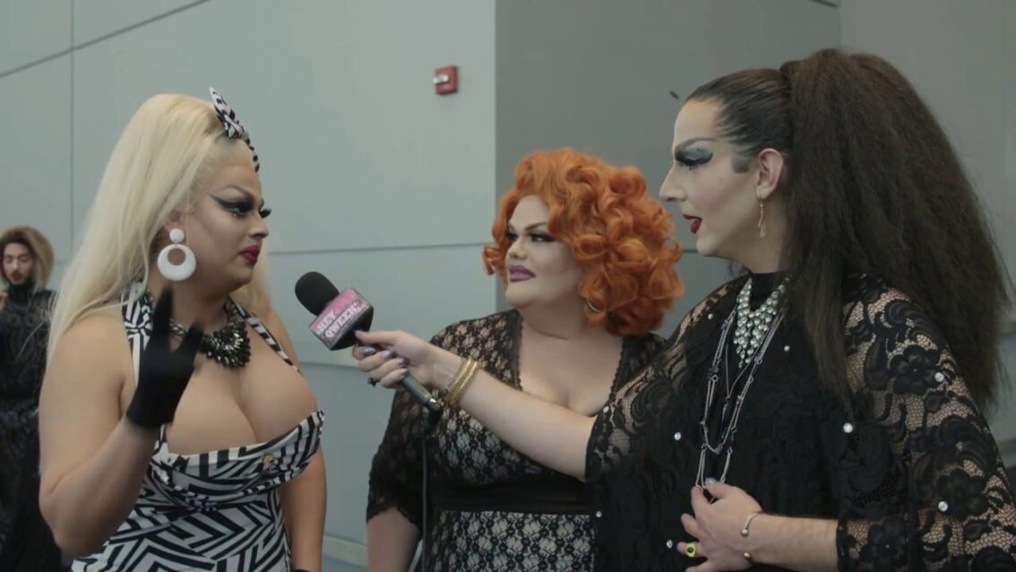 Darienne Lake & Jaymes Mansfield at DragCon NYC 2017 – Hey Qween!