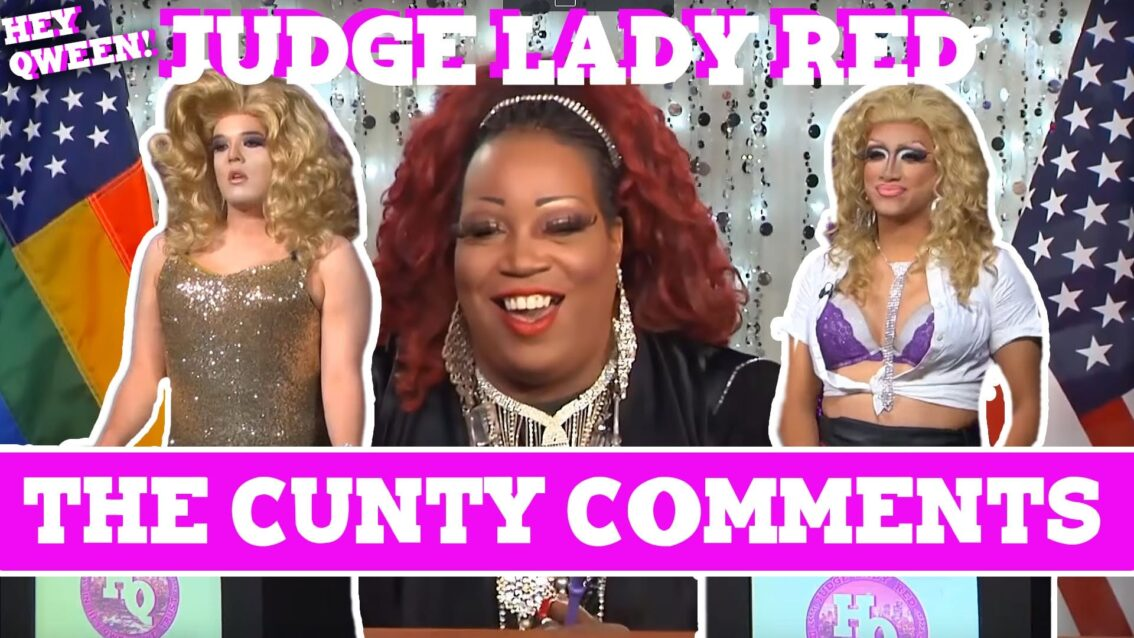 Judge Lady Red: Shade or No Shade Episode 3: The Case Of The Cunty Comments