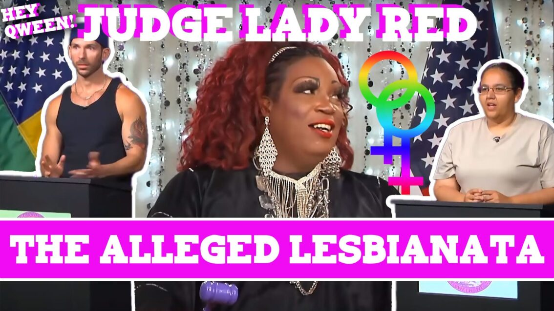 Judge Lady Red: Shade or No Shade Episode 4: The Case Of The Alleged Lesbianata