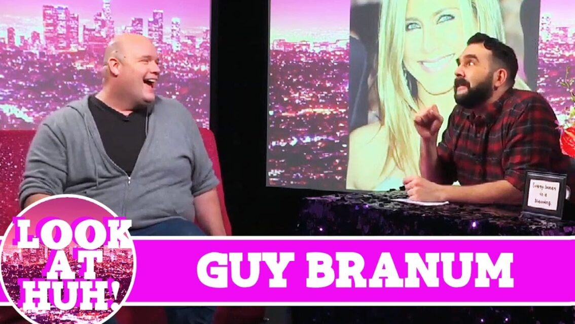 Guy Branum LOOK AT HUH! On Hey Qween with Jonny McGovern