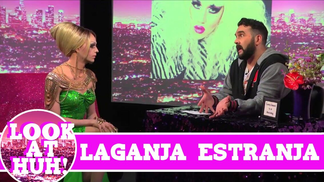 Laganja Estranja LOOK AT HUH! On Hey Qween with Jonny McGovern