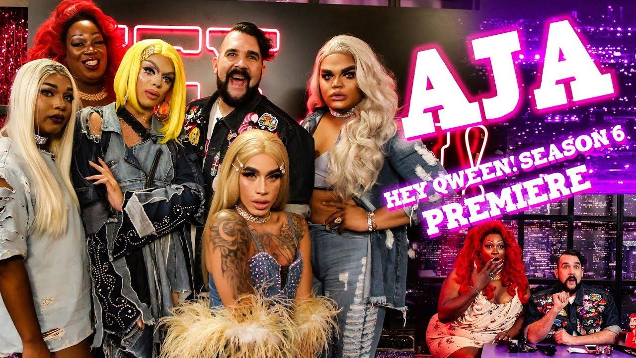 AJA on Hey Qween! Season 6 Premiere (2/3)