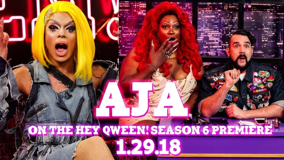 Aja on the Hey Qween Season 6 Premiere