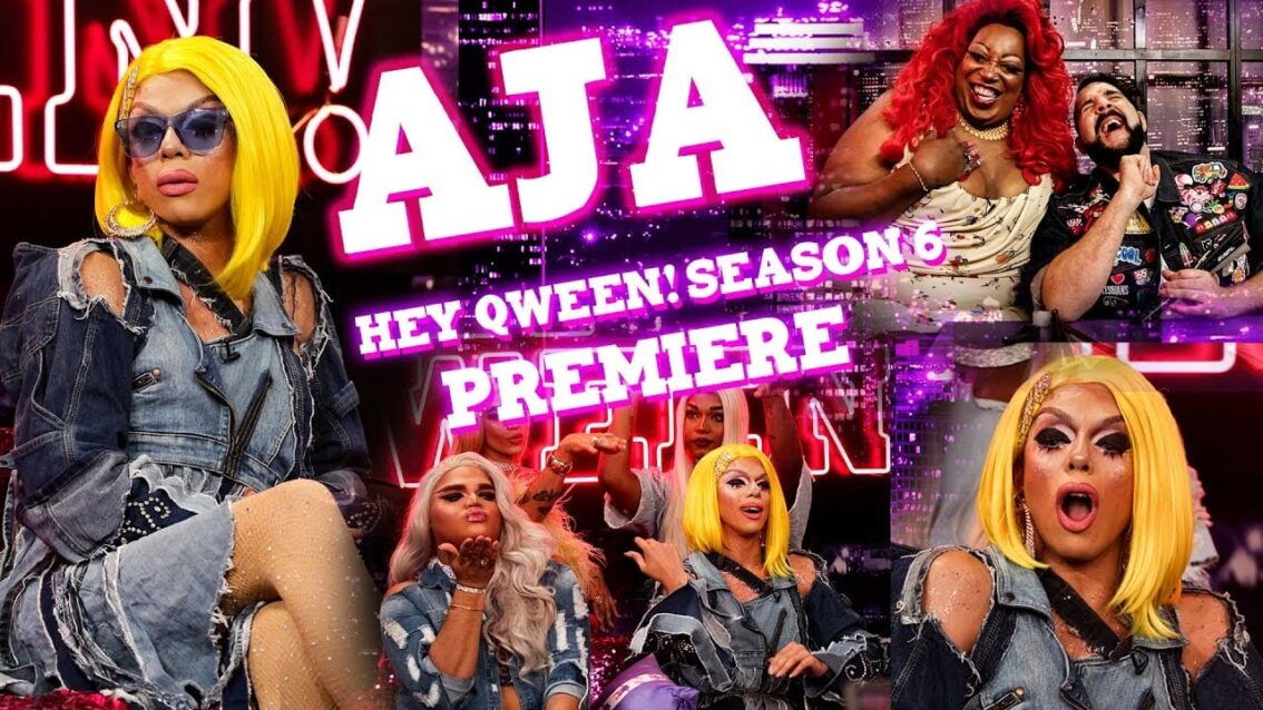 AJA on Hey Qween! Season 6 Premiere