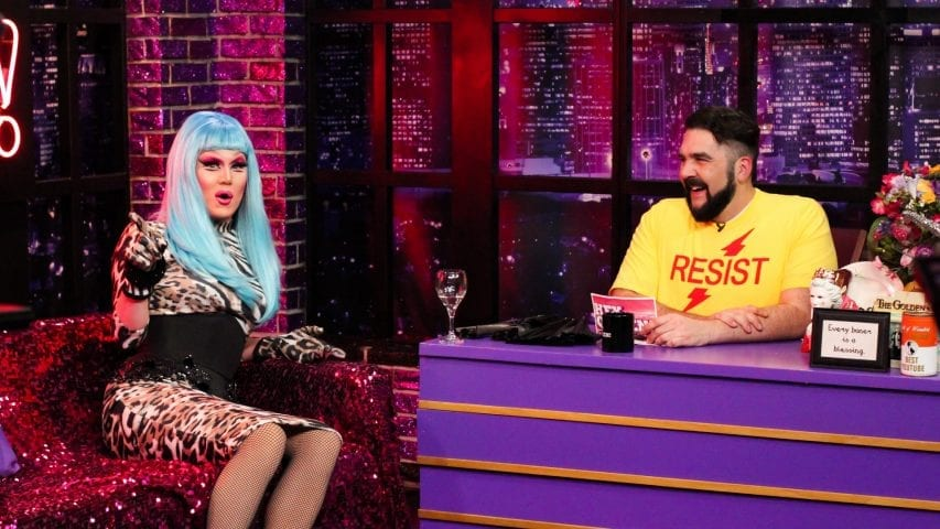 Charlie Hides Tells Her Side of The Story on Hey Qween! Photo