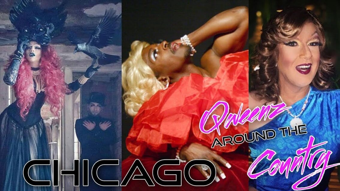 QWEENS AROUND THE COUNTRY: Back to CHICAGO with Lady Red Couture