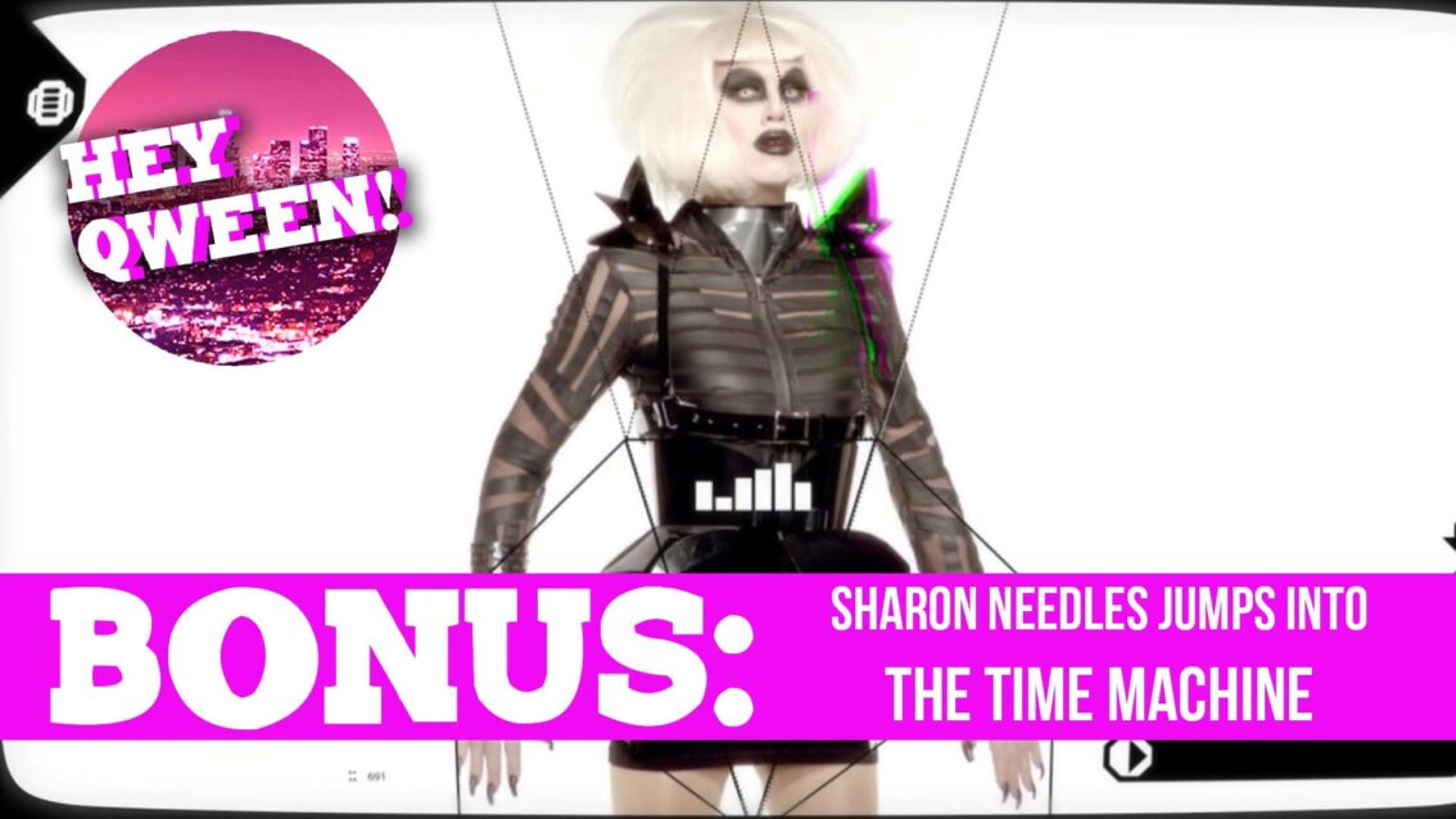Hey Qween! BONUS: Sharon Needles' Jumps Into The Time Machine