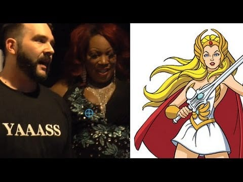 Hey Qween! BONUS: Jonny & Lady Red Meet She-Ra