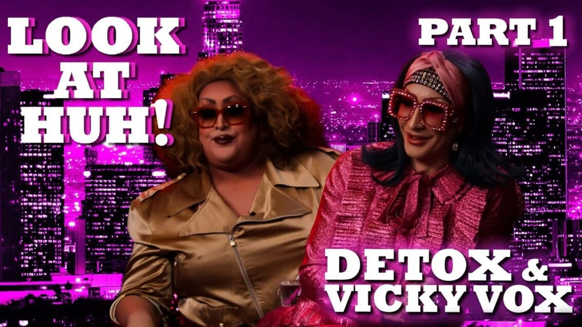DETOX and VICKY VOX on Look At Huh! – Part 1