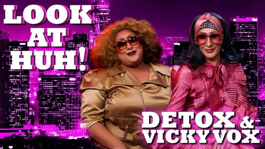 DETOX and VICKY VOX on Even MORE Look At Huh! Photo