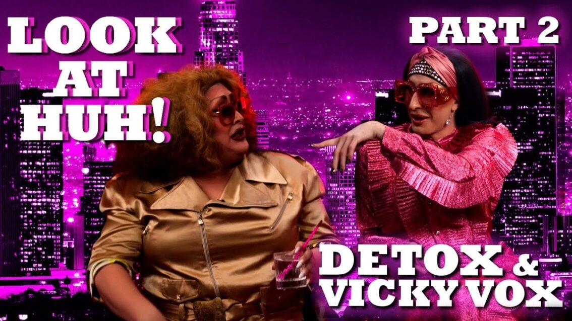 DETOX and VICKY VOX on Look At Huh! – Part 2