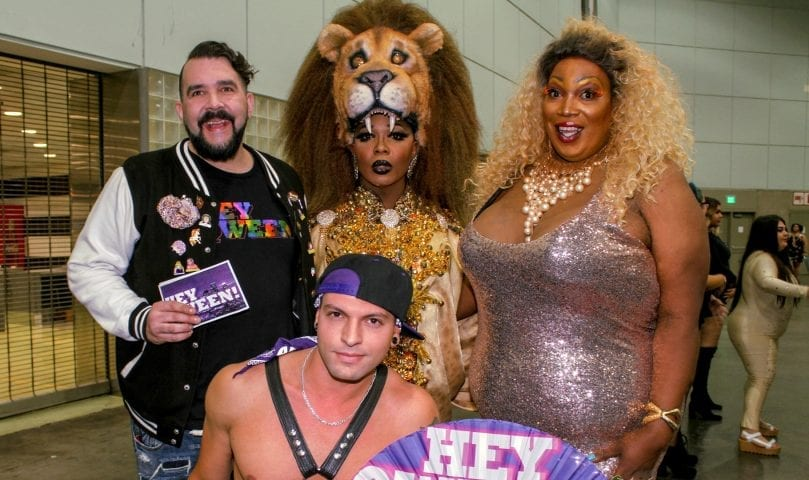 Hey Qween! Takes RuPaul's DragCon 2018! Photo