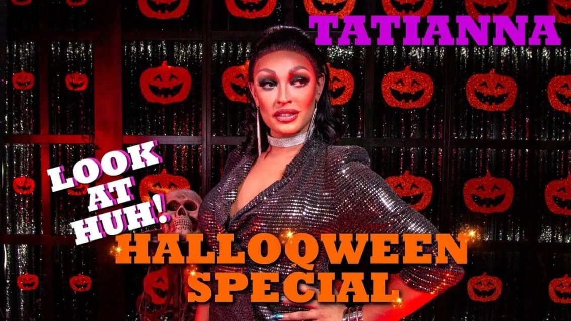 TATIANNA on the Look At Huh! HalloQween Special Cover