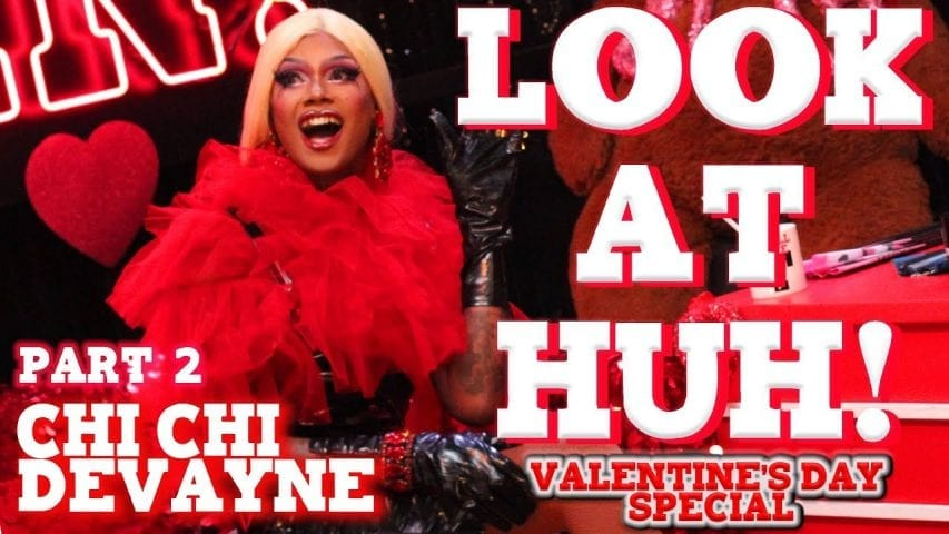 CHI CHI DEVAYNE on Look At Huh Valentine's Special – Part 2 Photo