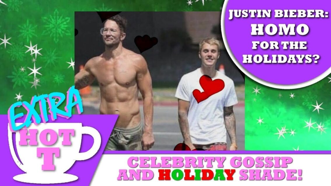 Justin Bieber: Homo for the Holidays? – EXTRA Hot T