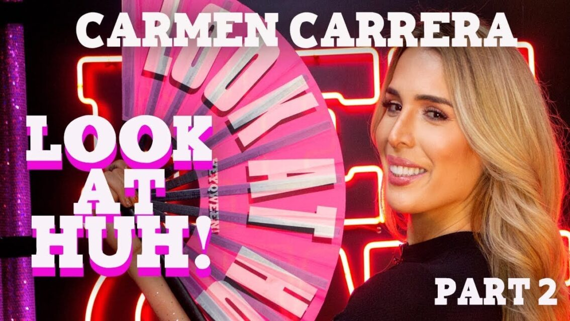 CARMEN CARRERA on Look At Huh – Part 2