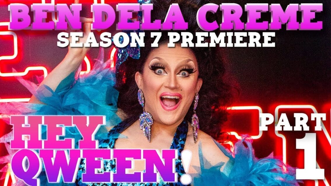 BENDELACREME on Season 7 Premiere of Hey Qween!