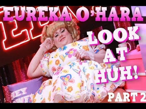 EUREKA O'HARA on Look At Huh – Part 2