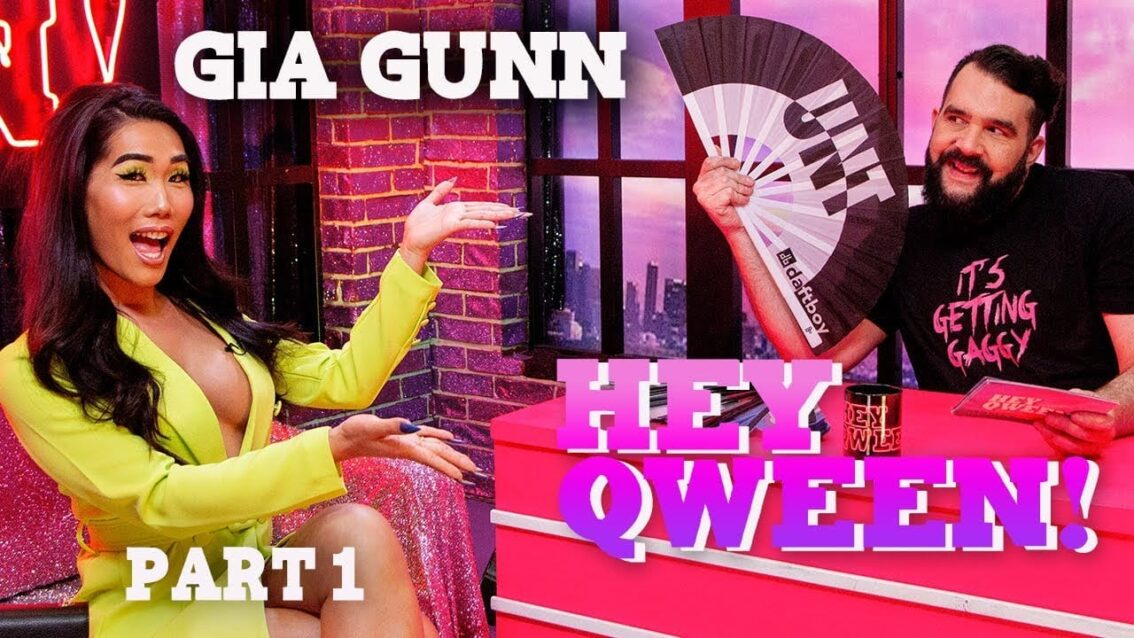 GIA GUNN on Hey Qween! with Jonny McGovern