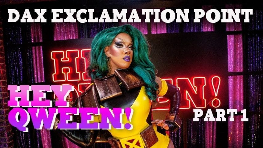DAX EXCLAMATION POINT on Hey Qween! with Jonny McGovern Photo