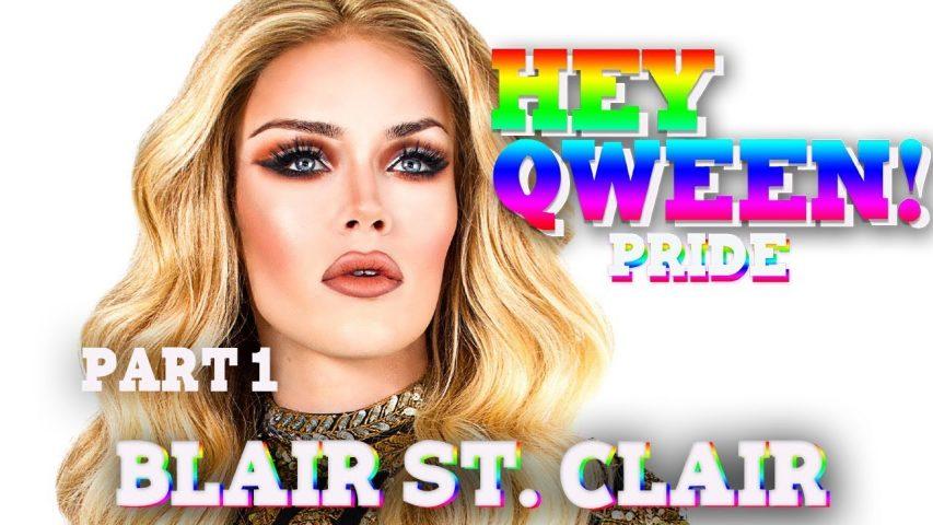 BLAIR ST. CLAIR on Hey Qween! PRIDE with Jonny McGovern Photo