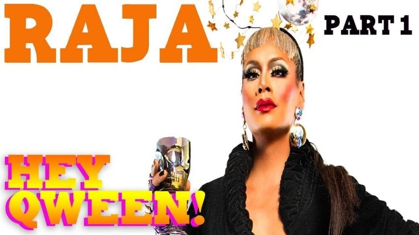 RAJA on the Hey Qween! Halloween Special Photo