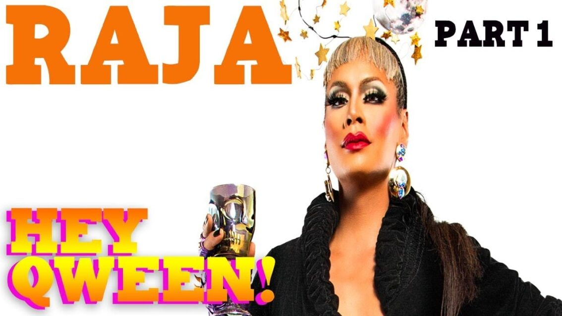 RAJA on the Hey Qween! Halloween Special
