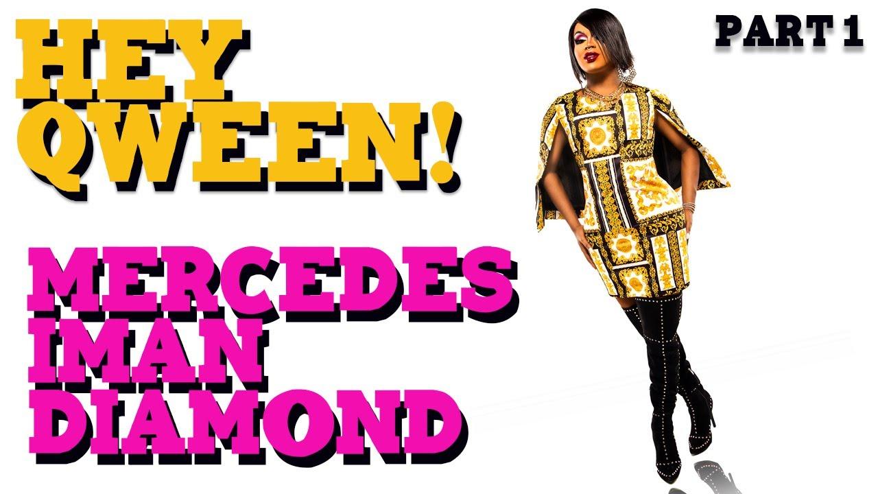 MERCEDES IMAN DIAMOND on Hey Qween! with Jonny McGovern