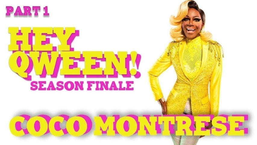 COCO MONTRESE on Hey Qween! with Jonny McGovern Photo