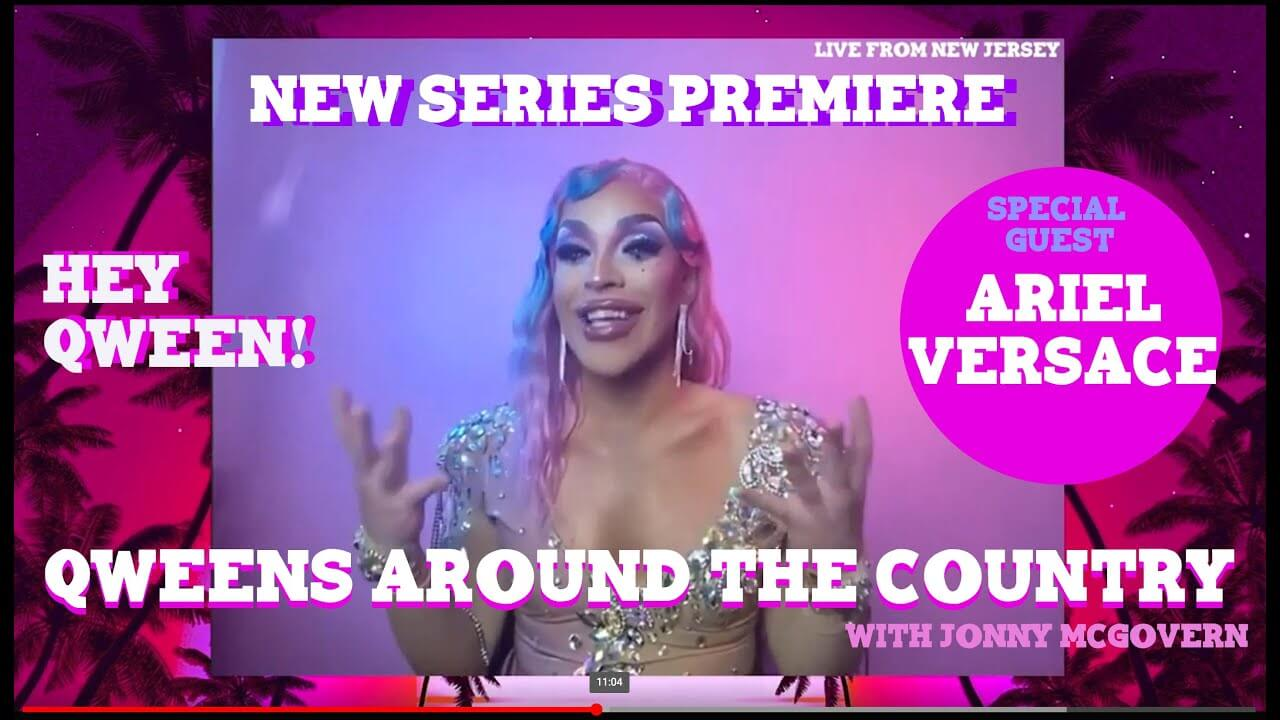 Ariel Versace on Qweens Around The Country Episode 1
