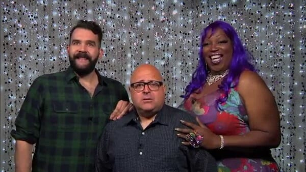 Frank DeCaro on Hey Qween Promo